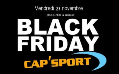 Black Friday Cap'Sport
